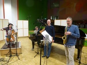 Trio mit Komponist klein